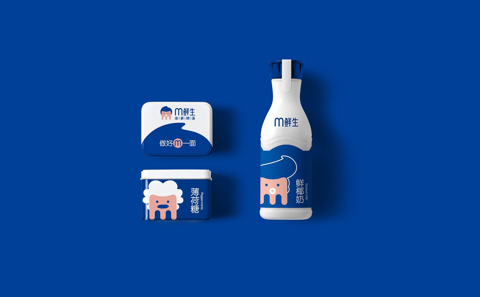 M鲜生海鲜焖面品牌形象设计-5